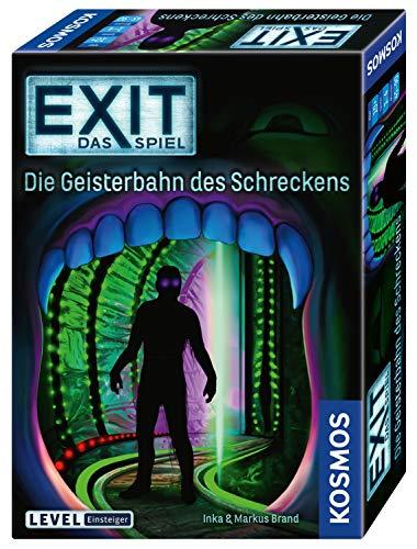 KOSMOS 697907 EXIT - Das Spiel - Die Geisterbahn des Schreckens, Level: Einsteiger, Escape Room Spiel