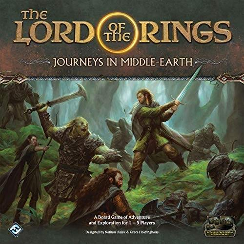 Flight Games FFGJME01 The Lord of the Rings: Journeys in Middle-Earth, Brettspiel - Englische Edition