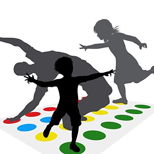 GUBOOM Partyspiel Kinderspiel, brettspiele familienspiele, Teamspiel, Geschicklichkeitsspiel für Kinder und Erwachsene, Brettspiel für 2 oder mehr Spieler, Lustiges Spiel Indoor und Outdoor Spiel