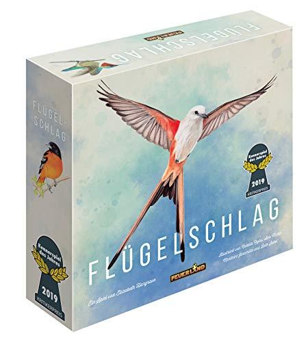 Feuerland Spiele 104-146-901 63558 FLÜGELSCHLAG Brettspiel Deutsche Edition - Kennerspiel des Jahres 2019 (Kritikerpreis)