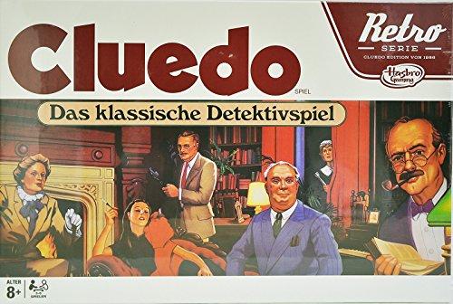 Hasbro Cluedo Retro - Das Klassische Detektivspiel
