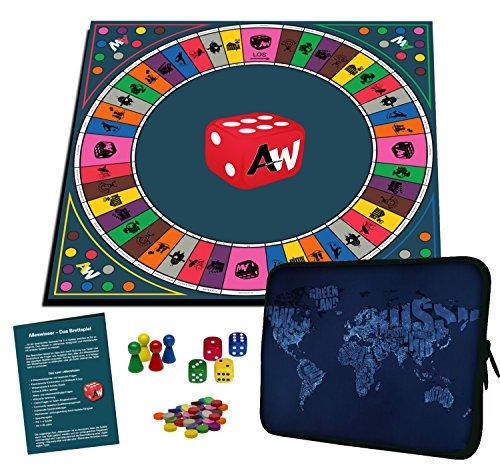 Alleswisser Quiz Brettspiel für Kinder u. Erwachsene ab 7 Jahre | Familienspiel für 2 - 4 Personen mit App Unterstützung | lustiges Party Spiel | Gesellschaftsspiel | Unterhaltungsspiel | Gemeinschaftsspiel