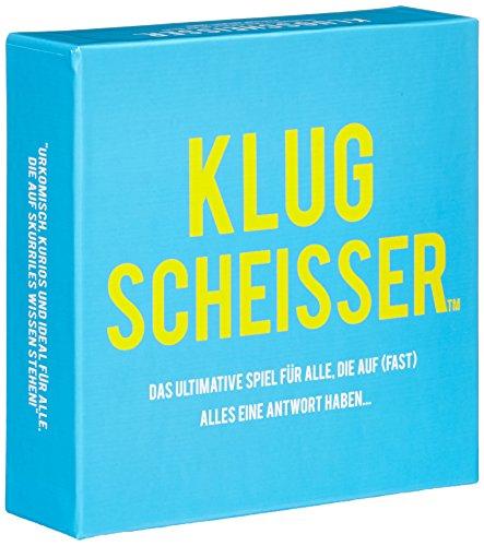 KLUGSCHEISSER - das ultimative Spiel für alle, die auf (fast) alles eine Antwort haben...