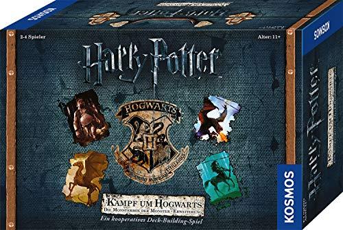 Kosmos Harry Potter - Kampf um Hogwarts - Die Monsterbox der Monster - Erweiterung zu Harry Potter Spiel Hogwarts Battle in deutscher Sprache, für 2-4 Spieler, ab 11 Jahre