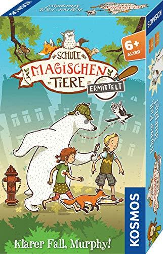 KOSMOS 712631 Die Schule der magischen Tiere ermittelt - Klarer Fall, Murphy! kniffliges Detektiv-Spiel, für Kinder ab 6 Jahre, Mitbringsel Kindergeburtstag