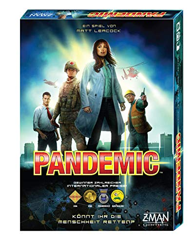 Asmodee Pandemc - Grundspiel, Familienspiel, Brettspiel, Deutsch