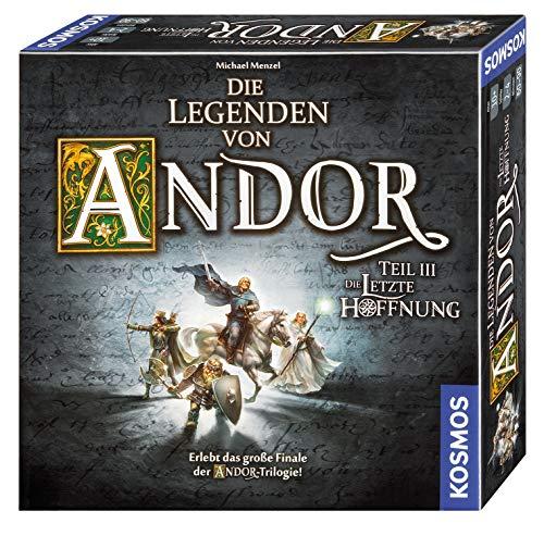 Kosmos 692803 - Die Legenden von Andor - Teil III Die letzte Hoffnung, Fantasy-Brettspiel ab 10 Jahre, das große Finale der Andor-Trilogie, eigenständiges Spiel