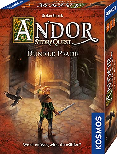 KOSMOS 698973 Andor - Story Quest - Dunkle Pfade, Story-Spiel in der Welt von Die Legenden von Andor, Abenteuerspiel, Fantasy- Brettspiel, ab 12 Jahre