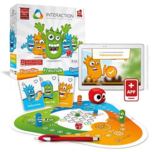 Rudy Games Interaction – Interaktives Familienspiel mit App – Verrücktes Brettspiel mit Mini-Games für die ganze Familie und Freunde – Ab 8 Jahren – Für 2-9 Spieler
