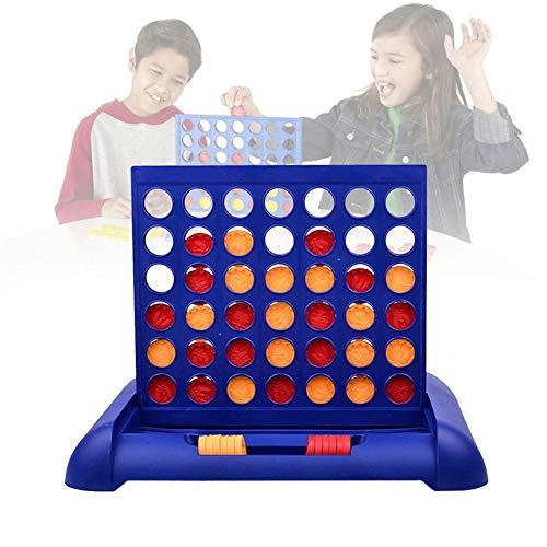 Geeignet Für Quarto Connect 4 Teile Klassischer Brettspiele Sport Und Unterhaltungsspielzeug Tischspiele Zeitlose Klassische Vertikale Strategiespiele Kunststoffmaterial Für Kinder Über 5 Jahre