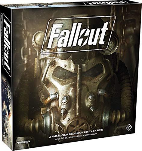 Fantasy Flight Games FFGD0161 Asmodee Fallout, Grundspiel, Expertenspiel, Strategiespiel, Deutsch