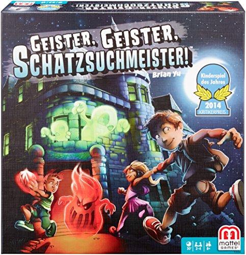 Mattel Y2554 - Geister, Geister, Schatzsuchmeister - Strategiespiel