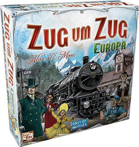 Asmodee Zug um Zug Europa
