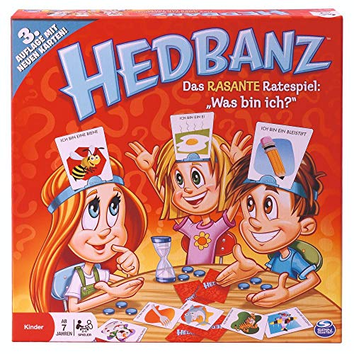 Spin Master Games 6019225 Hedbanz (3. Edition)