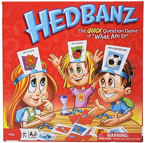 """TourKing HedBanz Game-""""Guess What's am I""""-Kartenspiel, Party-Brettspiel für Kinder, Freunde und Familien"""